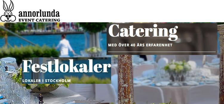 Annorlunda catering i Stockholm